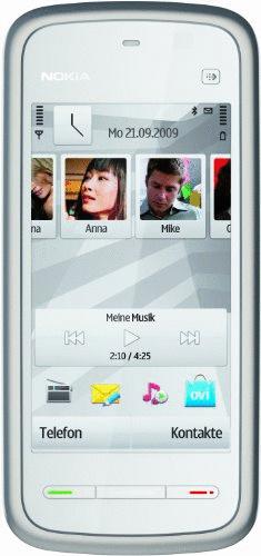 Nokia 5228 white silver