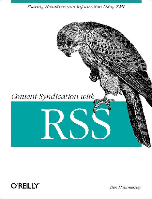 Content Syndication with RSS. - Ben Hammersley