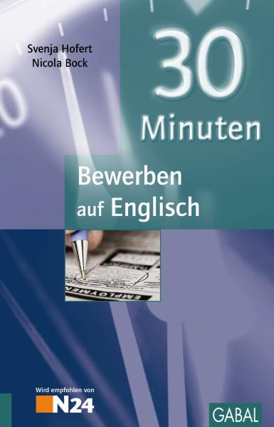 30 Minuten Bewerben auf Englisch - Svenja Hofert