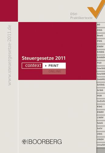 Steuergesetze 2011: DStI-Praktikertexte - DStI