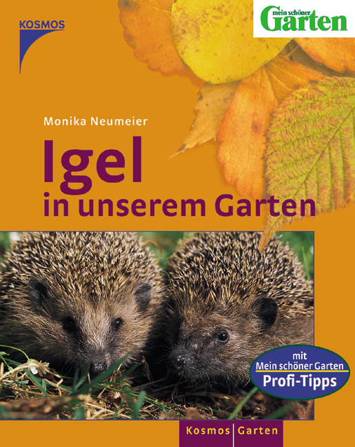 Igel in unserem Garten - Monika Neumeier