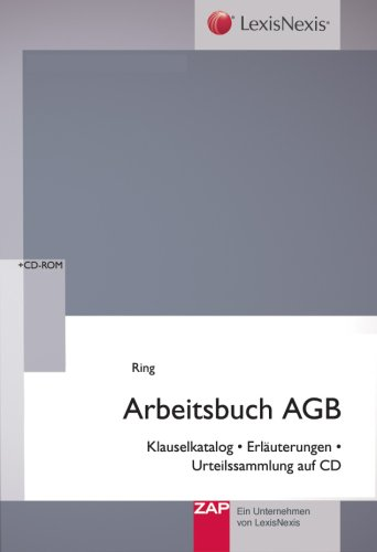 Arbeitsbuch AGB - Prof Dr. Gerhard Ring