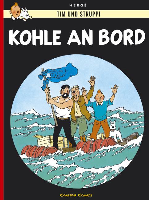 Tim und Struppi, Carlsen Comics, Neuausgabe, Bd.18, Kohle an Bord - Hergé
