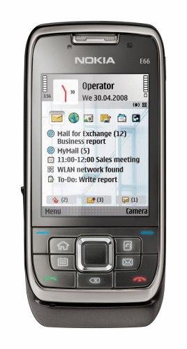 Nokia E66 grey steel