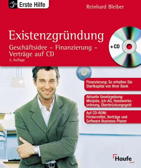 Existenzgründung, m. CD-ROM - Reinhard Bleiber