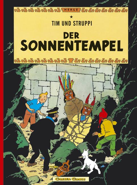 Tim und Struppi, Carlsen Comics, Neuausgabe, Bd.13, Der Sonnentempel - Hergé