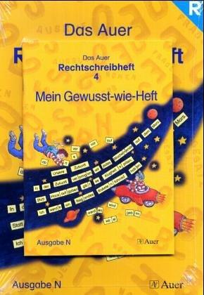 Das Auer Rechtschreibheft - Ausgabe N: Das Auer Sprachbuch. 4. Schuljahr. Rechtschreibheft. Ausgabe N. Allgemeine Ausgabe: inkl. Gewusst-wie-Heft - Ruth Dolenc