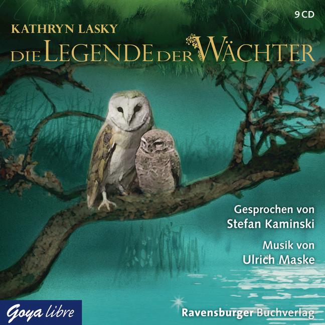Die Legende der Wächter: Folge 1-3 - Die Entführung / Die Wanderschaft / Die Rettung - Kathryn Lasky [9 Audio CDs]