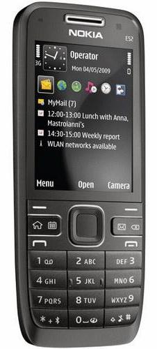 Nokia E52 black Edition