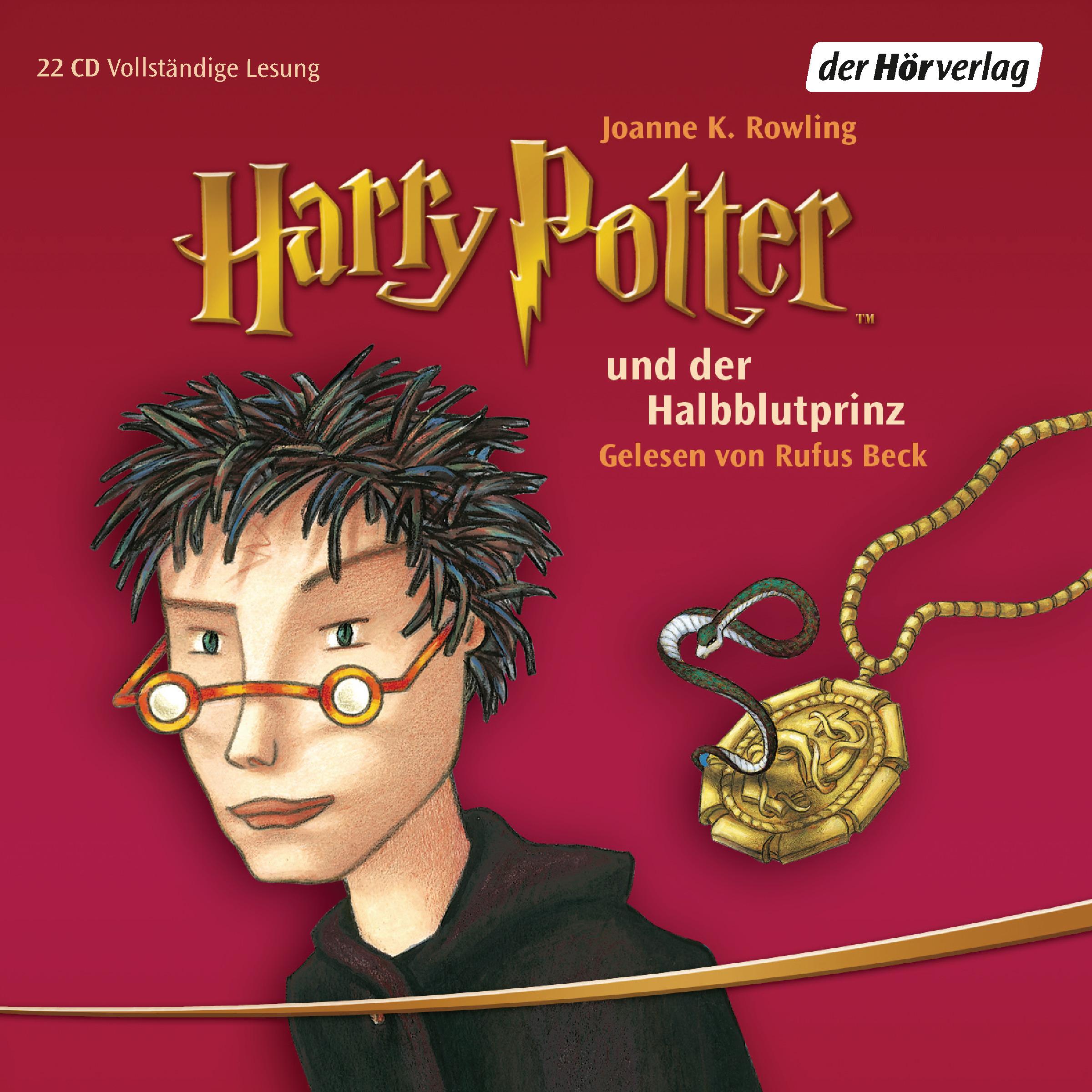Harry Potter 6 und der Halbblutprinz: Gelesen von Rufus Beck - Joanne K. Rowling