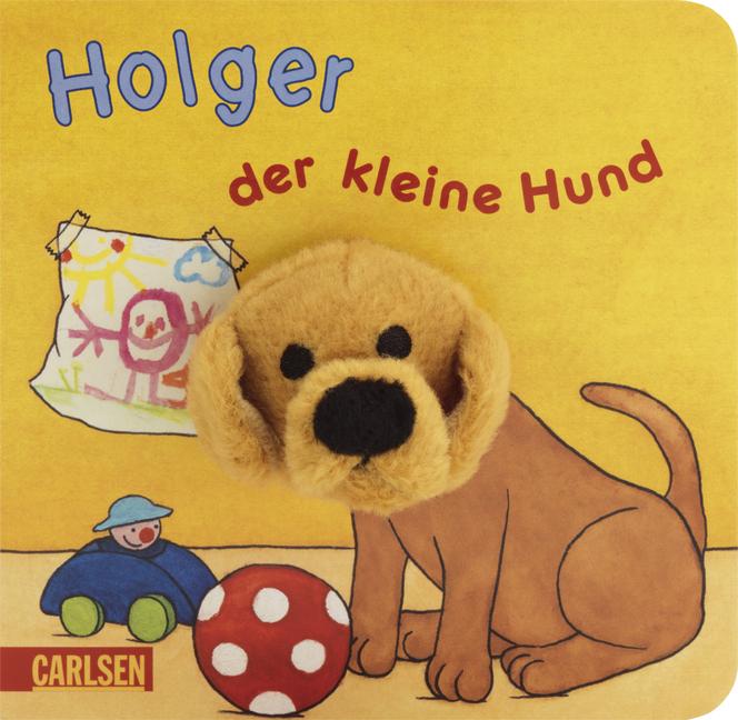 Fingerpuppen-Bücher: Holger, der kleine Hund - ...