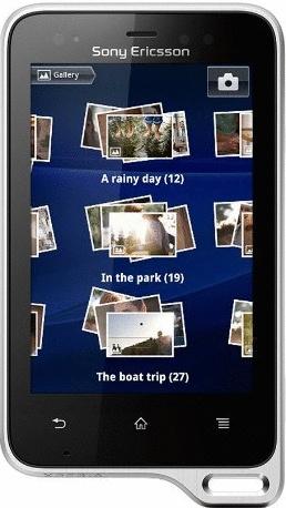 Sony Ericsson Xperia active weiß
