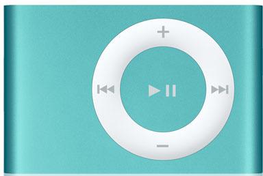Vorschaubild von Apple iPod shuffle 2G 2GB türkis