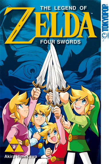 The Legend of Zelda 07 - Four Swords 02 - Akira Himekawa