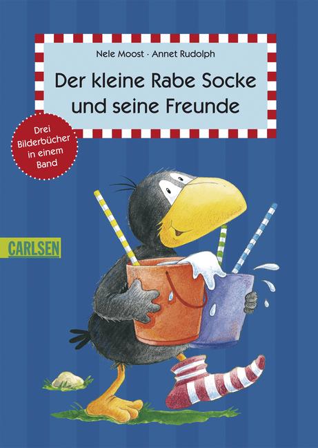 Der kleine Rabe Socke und seine Freunde: Drei B...