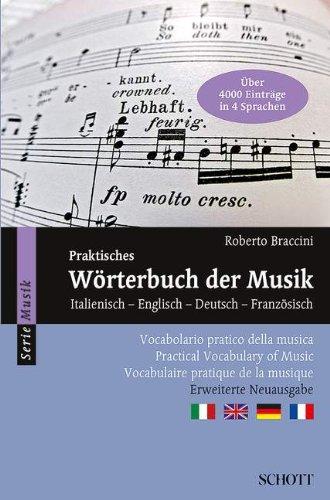 Praktisches Wörterbuch der Musik: Italienisch -...
