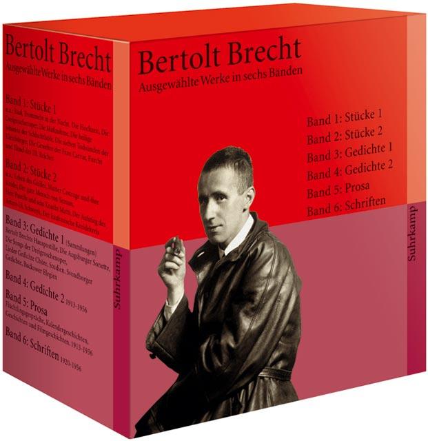 Ausgewählte Werke in sechs Bänden - Bertolt Brecht [6 Bände, Taschenbuch]