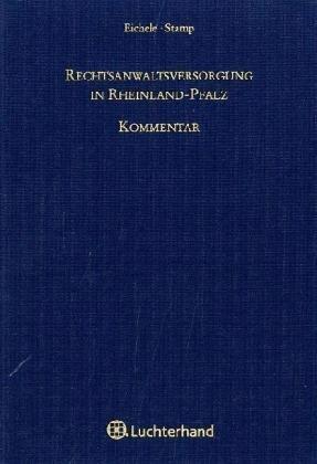 Rechtsanwaltsversorgung in Rheinland-Pfalz, Kom...