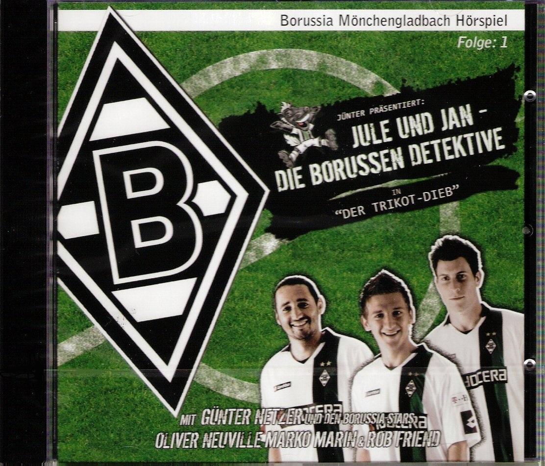 Jule und Jan - Die Borussen Detektive in Der Trikot Dieb Borussia Mönchengladbach Hörspiel CD - Borussia Mönchengladbach Hörspiel