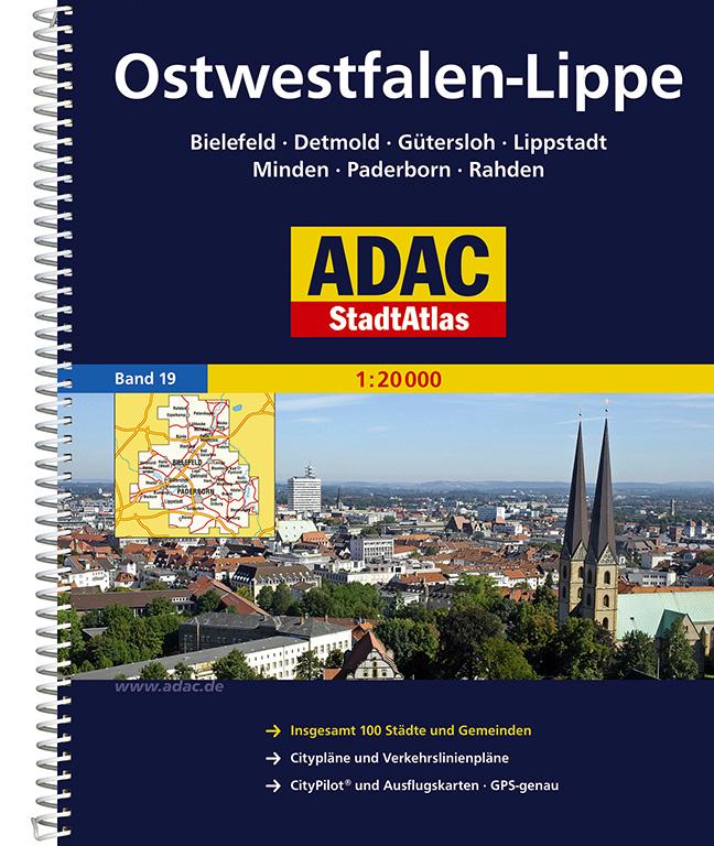 ADAC Stadtatlanten, Großraum Ostwestfalen Lippe...