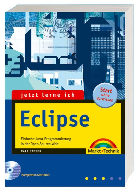 Jetzt lerne ich Eclipse. Mit CD-ROM. Einfach Ja...