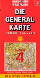 Die Generalkarten, Großraumausgabe, Bundesrepub...