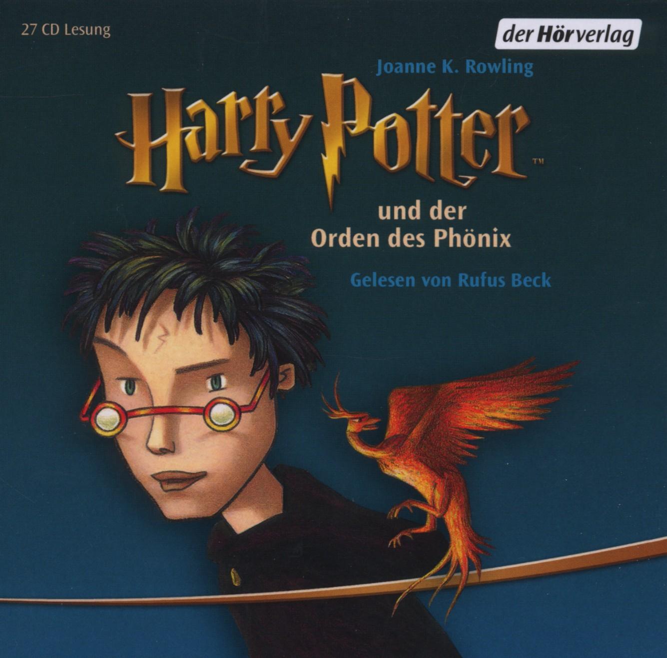 Harry Potter 5 und der Orden des Phönix: Gelesen von Rufus Beck - Joanne K. Rowling