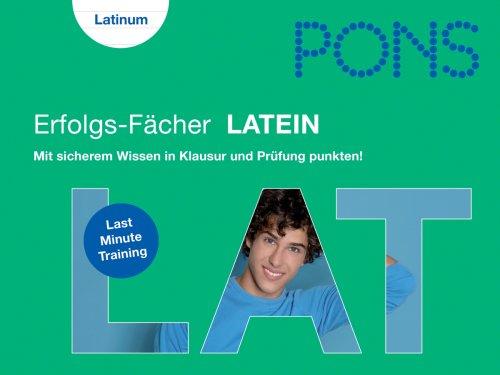 PONS Erfolgs-Fächer Abi Latein: Mit sicherem Wi...