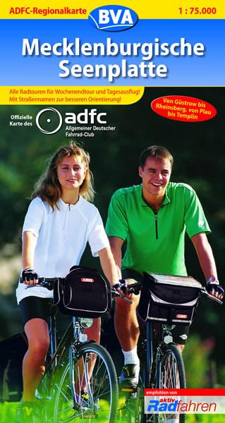 ADFC Regionalkarten, Mecklenburger Seenplatte: ...