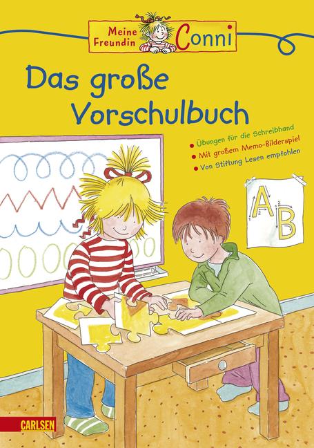 Conni Gelbe Reihe: Conni Das große Vorschulbuch (Neues Cover) - Hanna Sörensen