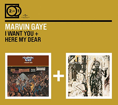 Marvin Gaye - 2 for 1: I Want You/Here My Dear