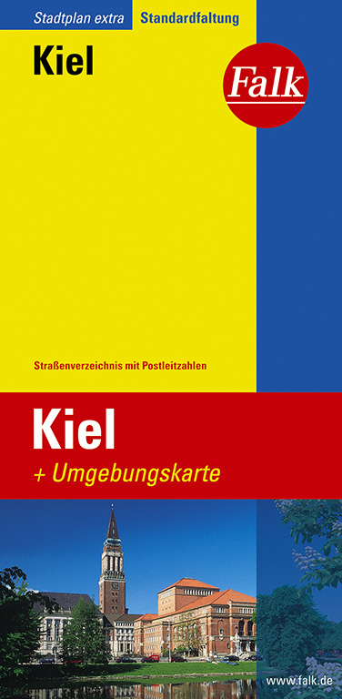 Falk Stadtplan Extra Standardfaltung Kiel - Fal...