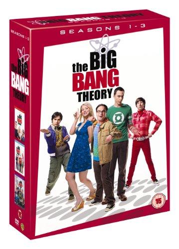 The Big Bang Theory - Season 1-3 [UK Import, 10 DVDs]