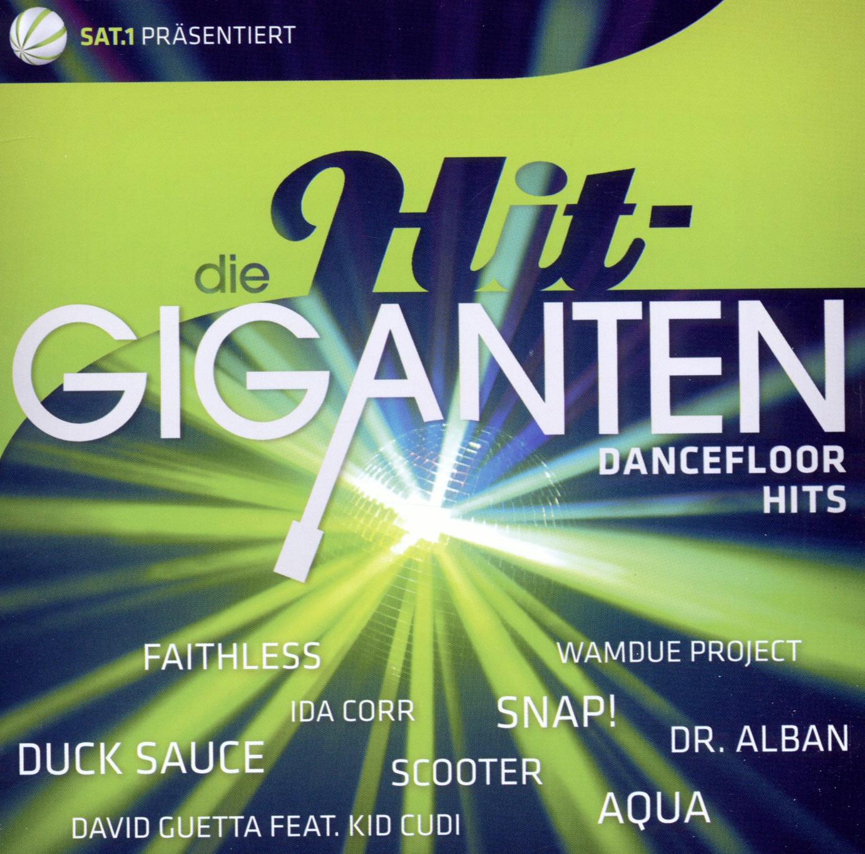 Various - Die Hit Giganten-Dancefloor Hits