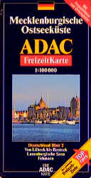 ADAC FreizeitKarte, Bl.2, Mecklenburgische Osts...