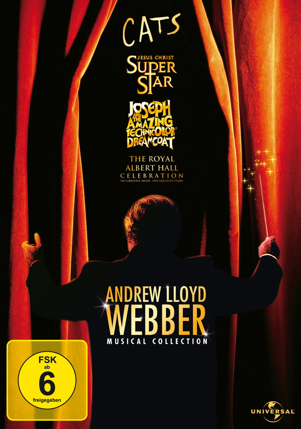 Andrew Lloyd Webber Musical Collection [4 DVDs]
