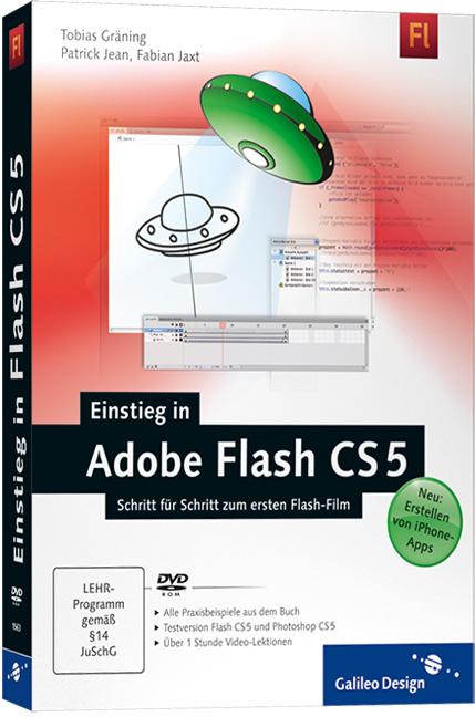 Einstieg in Adobe Flash CS5: Schritt für Schrit...