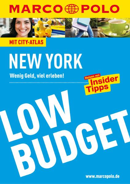 Marco Polo Low Budget New York: Wenig Geld, vie...