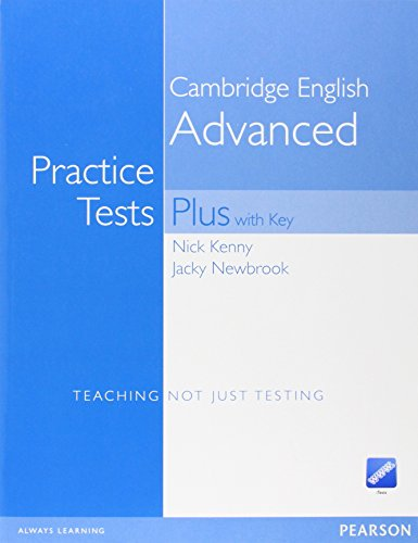 CAE Practice Tests Plus, New Edition, Book w. Key, CD-ROM - Nick Kenny