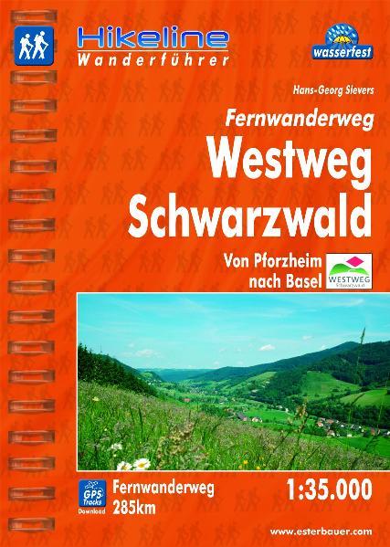 Hikeline Fernwanderweg Schwarzwald Westweg ca. ...