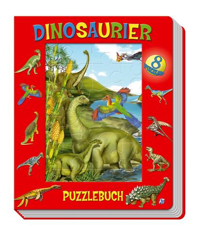 Dinosaurier Puzzlebuch - Edition Trötsch