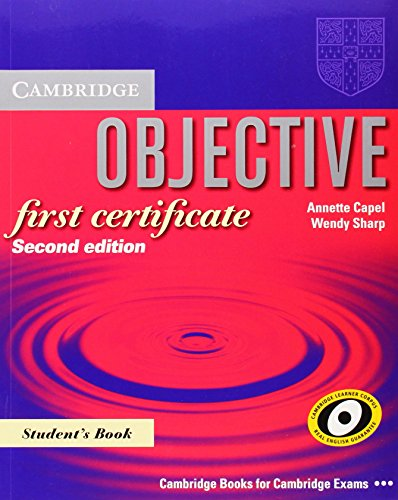 Objective First Certificate Student´s Book (Cam...