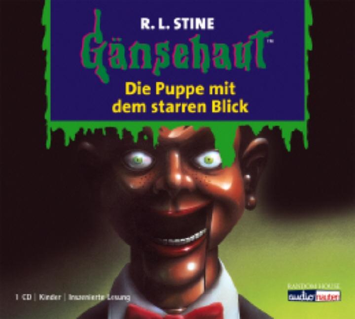 Gänsehaut - Band 8: Die Puppe mit dem starren Blick - R.L. Stine [Audio CD]