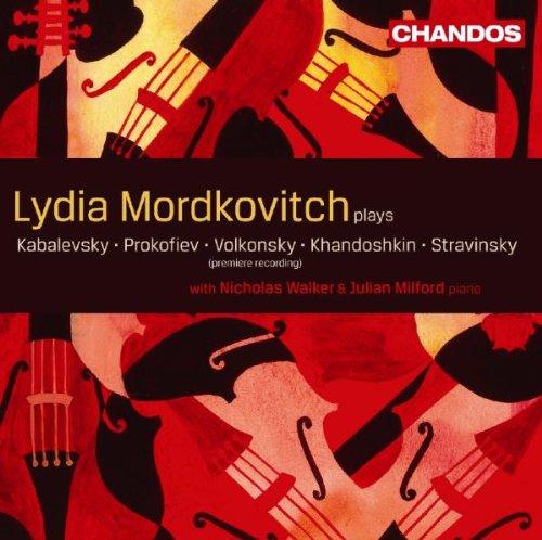 Lydia Mordkovitch - Russian Violin Recital