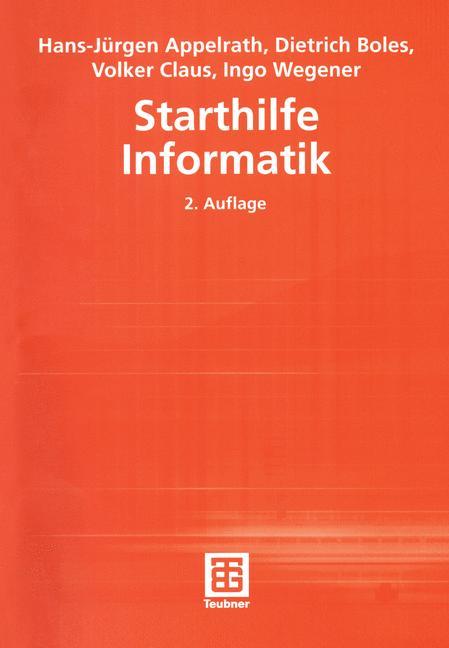Starthilfe Informatik - Hans-Jürgen Appelrath
