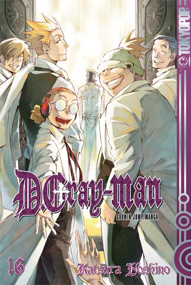 D.Gray-Man 16 - Katsura Hoshino