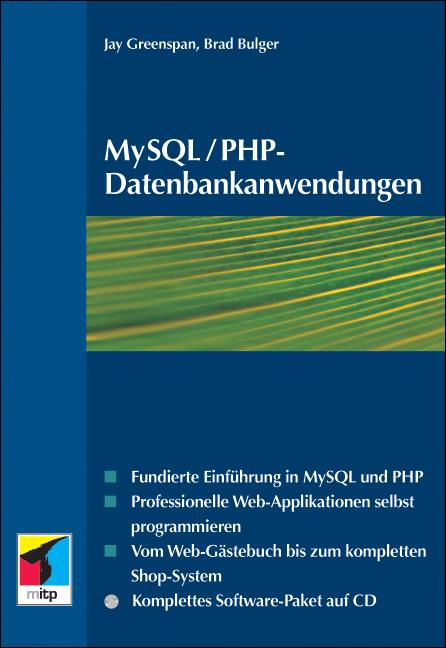 MySQL/PHP-Datenbankanwendungen, m. CD-ROM - Jay...