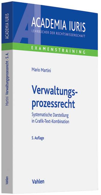 Verwaltungsprozessrecht: Systematische Darstellung in Grafik-Text-Kombination. Rechtsstand: Dezember 2010 - Mario Martini