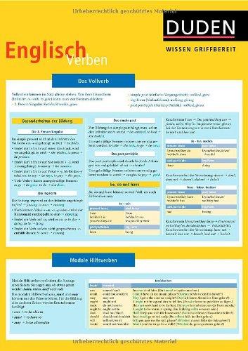 Duden Wissen griffbereit. Englisch Verben