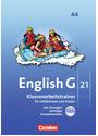 English G 21 - Ausgabe A: Band 4: 8. Schuljahr - Klassenarbeitstrainer mit Lösungen und CD: Für Schülerinnen und Schüler. Mit Lösungen und Lerntipps - Senta Friedrich